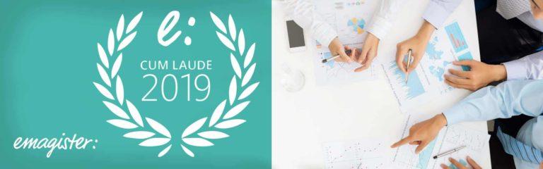 Hemos sido premiados con el Sello Cum Laude 2019 de Emagister